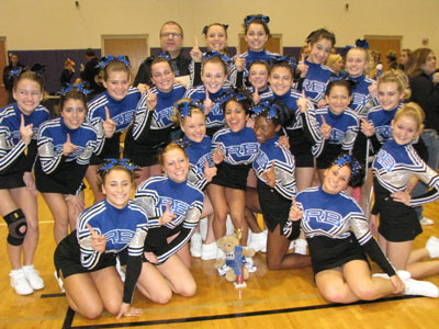 PREVIEW:  Cheerleading looks to get back into the top ten