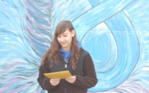 Fine arts students bring beauty to Progress Park