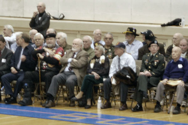Veterans gather to be honored at RB
