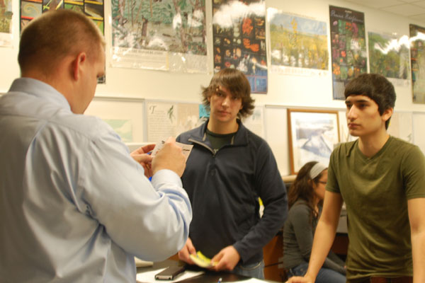 APES students care for school of trout