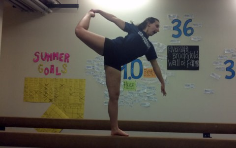 Decosola and Santoro lead girls gymnasts