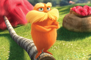 The Lorax speaks for the trees