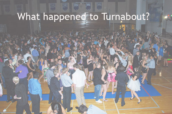 We turned around and Turnabout was gone