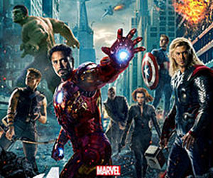 Avengers assemble on screen at last