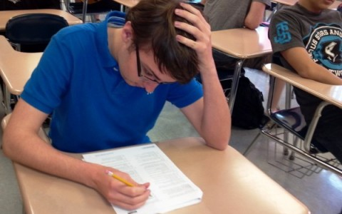 Rogers focusing on a test
