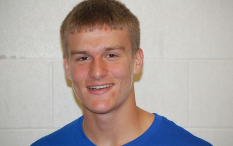Junior Jack VandeMerkt is manning the helm for this year's RB football squad.