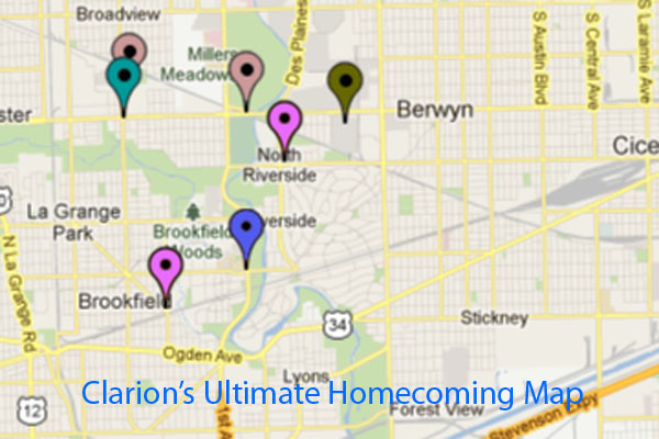 Cant find what you need for Homecoming?  Check out our interactive map for shoes, dresses, makeup, and more.