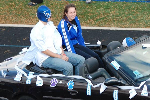 Last year, Clarion Editor-in-Chief Alleigh VandeMerkt made it onto the Homecoming Court.  Who will it be this year?