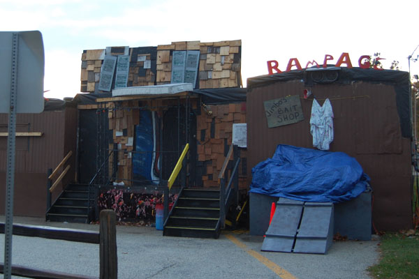 If you aren't dressing up in costume and trick-or-treating tonight, check our slideshow for five other ways to celebrate.  Shown above, the Jaycee's Haunted House, with its Redneck Rampage theme this year, is sure to be a crowd pleaser.