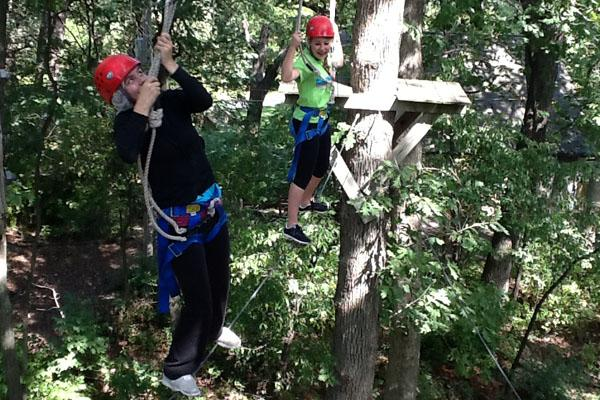 SEE Team's high ropes course induces panic, elation