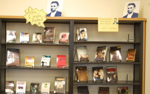 This year, participants can choose from over twenty books on the Abraham Lincoln Illinois High School Book Award List.