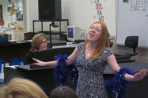 Every Student Has a Story is back and featuring Kristin Tomecek and her love of music.