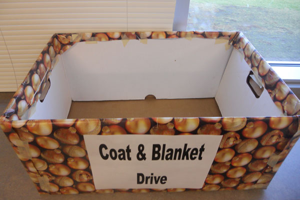 This is an empty box that needs all of our help to fill it up before the holidays, so our school can help families in our community out.  Read this article to see how you can volunteer this holiday season!
