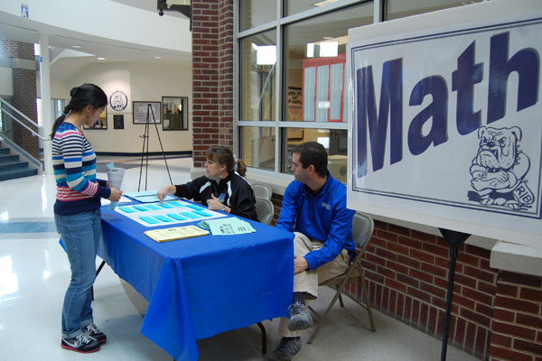The curriculum fair gave students the chance to meet with department leaders to discuss their options for next year.