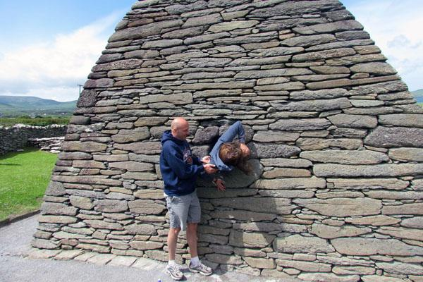 English teacher Dan O'Rourke has made an annual tradition out of inviting students to explore the history and culture of Ireland.