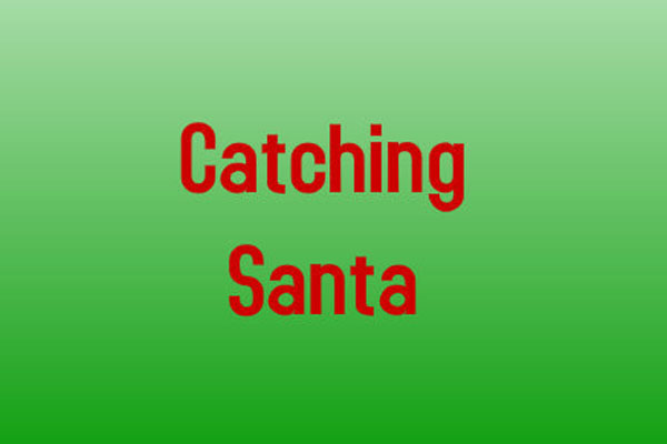 Carey's Comix:  Catching Santa