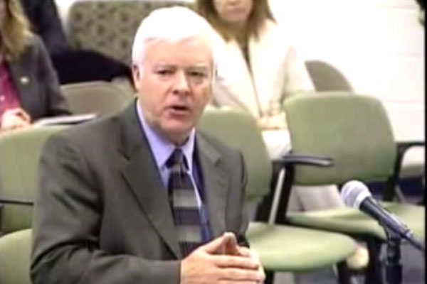 During his presentation to the Board, Crouse said RB should expect budget deficits in the future.