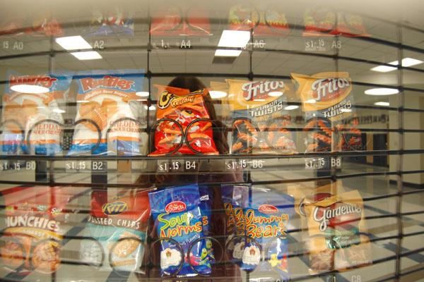 The Chicago Public Schools are looking to increase the healthy options in their vending machines.  Why aren't we?