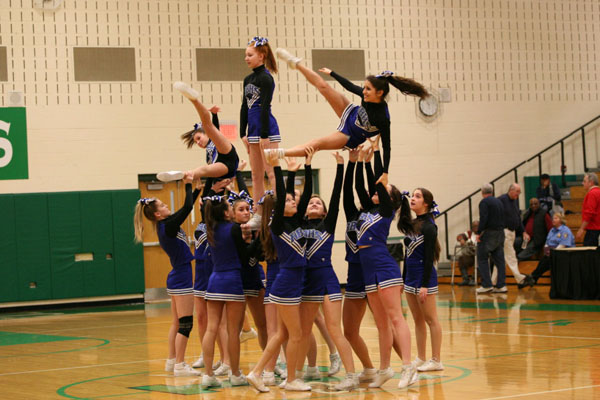 While the girls tried their hardest on Saturday, January 26, they were not able to make it past Sectionals.