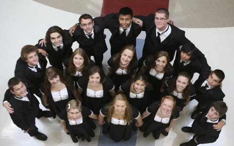 Madrigals stepping up to the bright lights, big stage