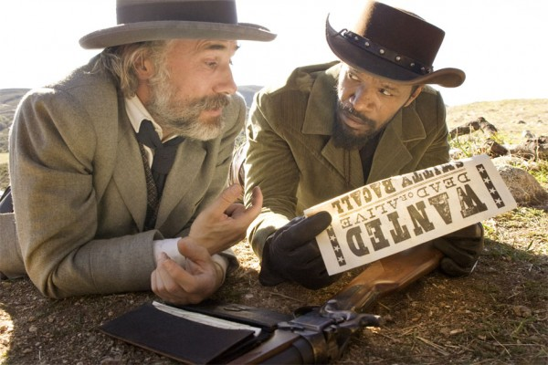 Django is unchained, both the stars and the violence