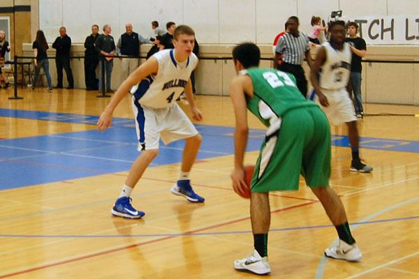 Bulldog basketballers fall to Rebels, lose perfect conference record