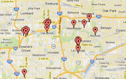 There are plenty of romantic date opportunities all over the Riverside/Brookfield area.  Check some of them out!