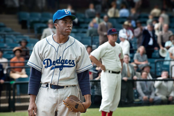 Chadwick Boseman made a performance for the ages as the iconic Jackie Robinson that wont be lost on anyone soon.