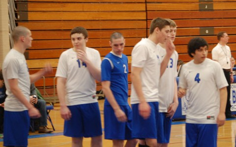 Boys volleyball finishing strong as playoffs get underway.