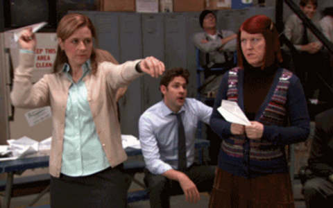 The Office: Paper Airplanes