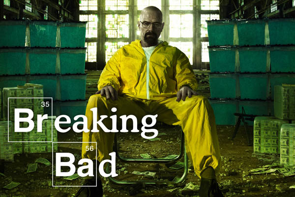 Breaking Bad, which enters its final season this year, is one in a long string of groundbreaking TV series.