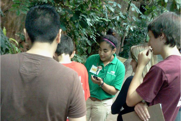 Freshmen in the summer Bridge Program got a chance to visit the Brookfield Zoo as part of their welcome to RB.