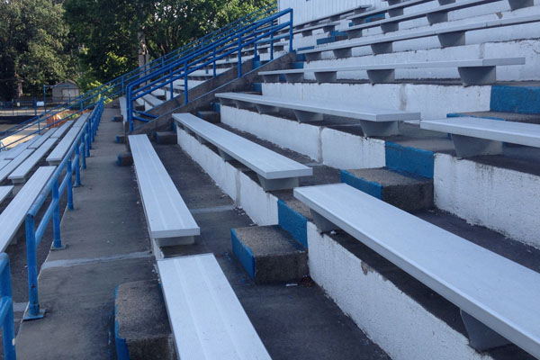 Untouched during the 2006 building renovation, RB's athletics bleachers could get an upgrade out of the nearly $9 million dollar grant RB will be receiving from the state of Illinois.