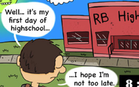 Welcome to Riverside Brookfield High School, welcome to Clarion, and welcome to our new comic