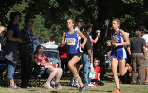 Girls' cross country second at conference