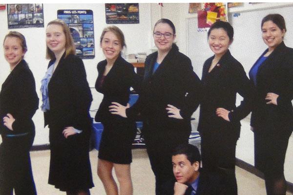 Speech team photo