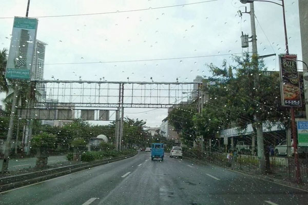 The worst of the weather did not hit Manila, but Duell and other residents were still concerned.