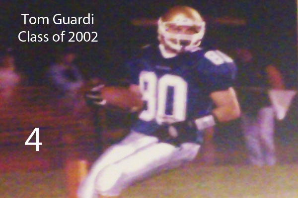 Tom Guardi, Class of 2002