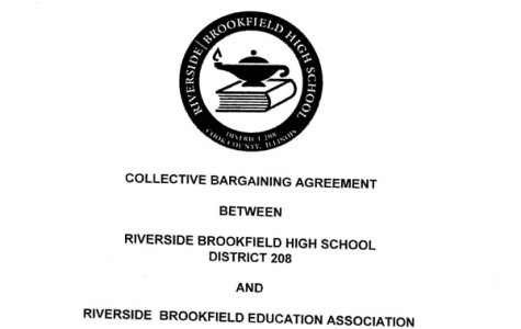 This cover shot comes RB's previous contract which expired at the end of last school year.  The RBEA and the board have been in negotiations ever since.  Now, a new contract might be on the horizon.