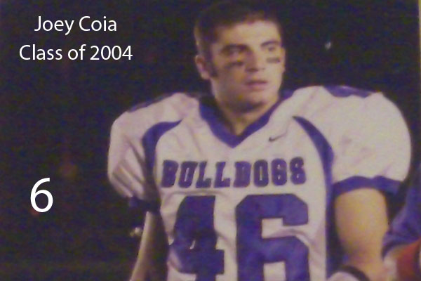 Joey Coia, Class of 2004