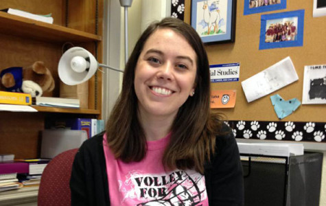 Erin Cunningham has returned to teach Social Studies at RB after studying at Northwestern and Brown.