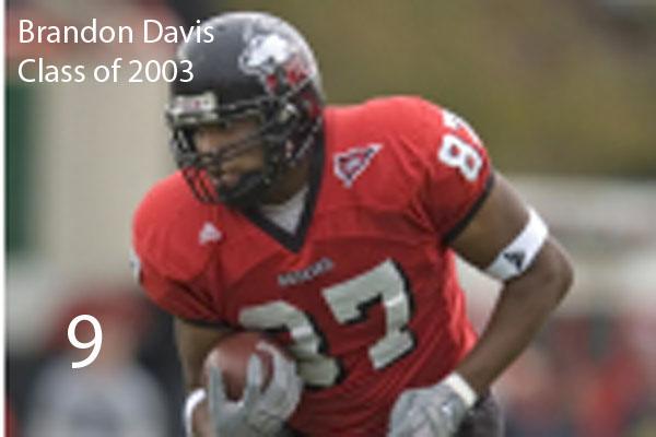 #9:  Brandon Davis, Class of 2002