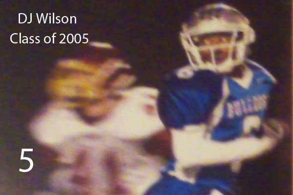 DJ Wilson, Class of 2005.