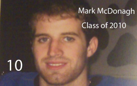 #10:  Mark McDonagh, Class of 2010