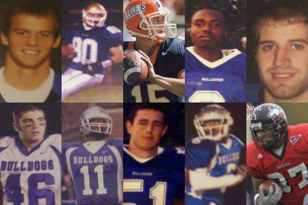 These titans of the grid iron represent the glory days of RB football in the late 90's and early 00's.