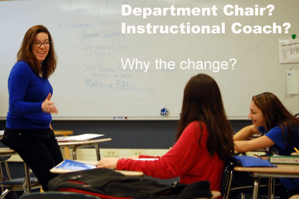 Instead of the once-traditional department chairs, RB departments will be led by