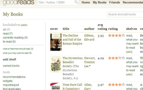 Welcome to Clarion Goodreads