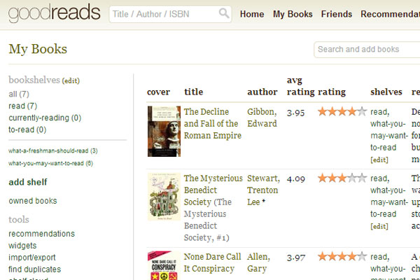 Looking for something to read?  Check out the new Clarion Goodreads page.