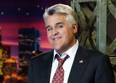 Jay Leno posing for a picture before an episode of