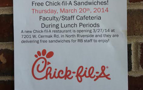 Eat more Chick-n?  At RB?